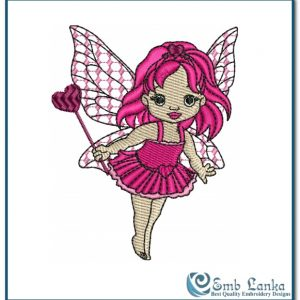 Angels Cute little Love Baby Embroidery Design angel