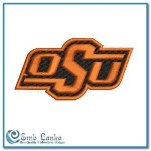 Oklahoma State Cowboys Logo Embroidery Design Logos