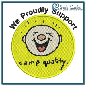 Free Camp Quality Logo 3 Embroidery Design Free designs [tag]