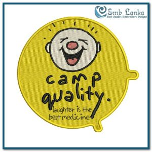Free designs Camp Quality Logo 4  Embroidery Design [tag]