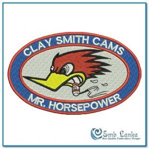 Clay Smith Cams 2 Embroidery Design Cartoon