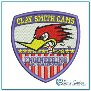 Clay Smith Cams 3 Embroidery Design Cartoon