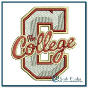 Logos College of Charleston Cougars Logo 2 Embroidery Design [tag]