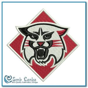 Davidson Wildcats Logo 2 Embroidery Design