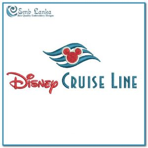 Disney Cruise Line Logo Embroidery Design