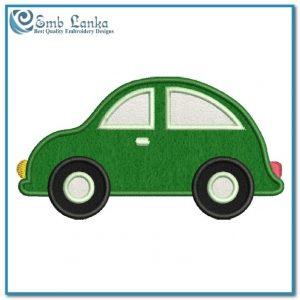 Free Cute Cartoon Car Applique Embroidery Design Appliques Car