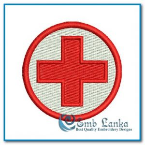 Free designs Free Red Cross Symbol Embroidery Design [tag]