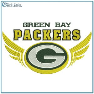 Logos Green Bay Packers Logo 3 Embroidery Design [tag]