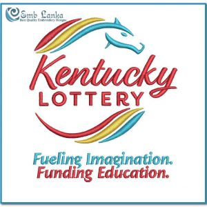 KY Lottery Logo Embroidery Design