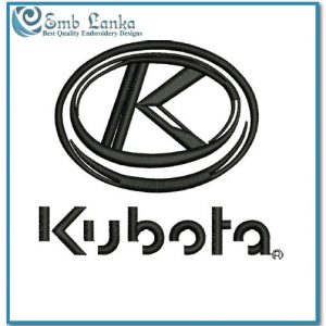 Kubota Logo 4 Embroidery Design