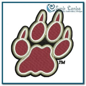 Logos Lafayette Leopards Logo 4 Embroidery Design [tag]