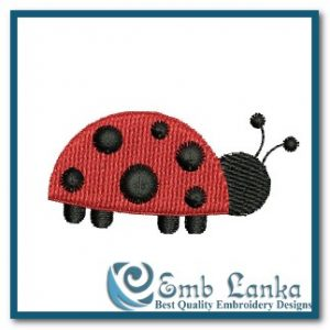 Animals Free Little Lady Bug Embroidery Design [tag]