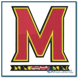 Logos Maryland Terrapins New Primary Logo Embroidery Design [tag]