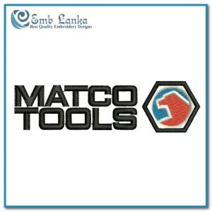 Matco Tools Logo Embroidery Design