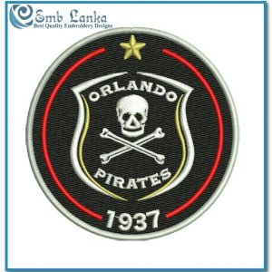 Logos Orlando Pirates Football Club Logo Embroidery Design Football