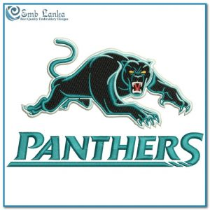 Penrith Panthers Logo 3 Embroidery Design