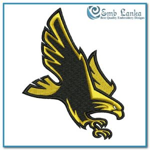 Southern Miss Golden Eagles Logo 2 Embroidery Design Logos