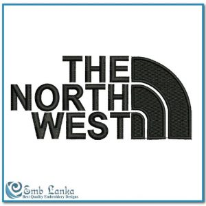 The North West Logo Embroidery Design Logos North West