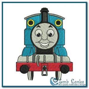 Thomas and Friends Logo 1 Embroidery Design Cartoon