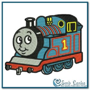 Thomas and Friends Logo 3 Embroidery Design