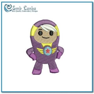 Xuli Go Jetters Cartoon Embroidery Design Cartoon