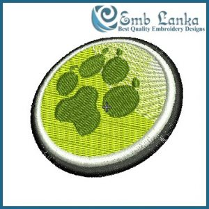 Animal Paw Print 2 Embroidery Design Animals