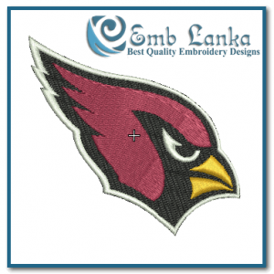 Birds Arizona Cardinals Logo Embroidery Design [tag]