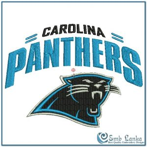 Logos Carolina Panthers Logo 2 Embroidery Design [tag]