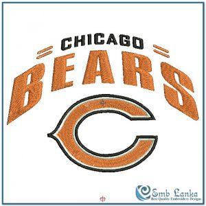 Logos Chicago Bears Logo 2 Embroidery Design [tag]