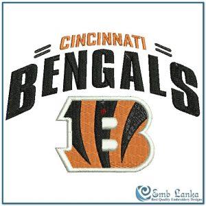 Cincinnati Bengals Logo 2 Embroidery Design Logos [tag]