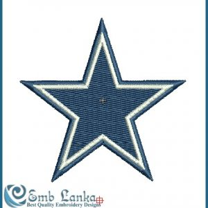 Logos Dallas Cowboys Logo Embroidery Design [tag]
