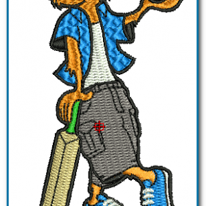 ICC cricket world cup 2007 Logo Embroidery Design