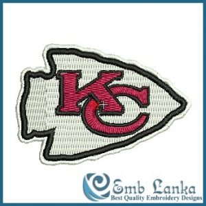 Logos Kansas City Chiefs Logo Embroidery Design [tag]