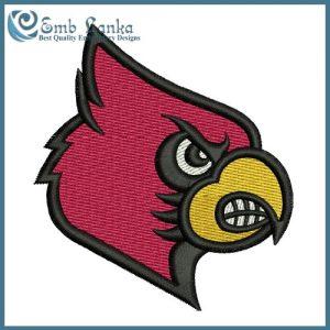 Louisville Cardinals Logo 3 Embroidery Design Logos [tag]