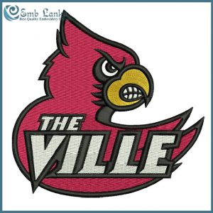 Louisville Cardinals Logo 6 Embroidery Design Logos