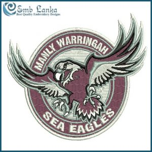 Manly-Warringah Sea Eagles Logo Embroidery Design