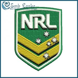 National Rugby League Logo Embroidery Design