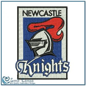 Newcastle Knights Logo Embroidery Design Logos