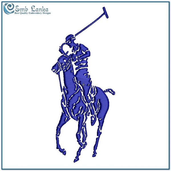 Download  sport logo Embroidery Design for T-shirt US POLO  sport Logo Embroidery Machine File Design