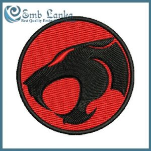 Thundercats Logo Embroidery Design