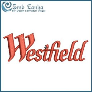 Westfield Logo Embroidery Design