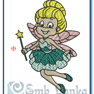 Angels Fairy Girl Embroidery Design [tag]