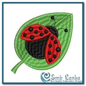 Bugs Lady Bug 2 Embroidery Design [tag]