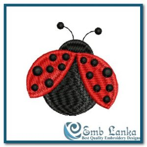 Bugs Lady Bug Embroidery Design [tag]