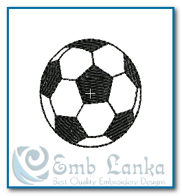 Football Embroidery Design Free designs