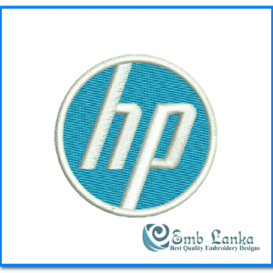 HP Logo 2 Embroidery Design Logos [tag]