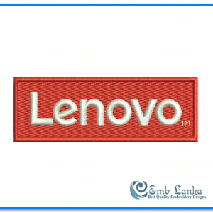 Lenovo Logo Embroidery Design