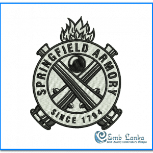 Springfield Armory Logo Embroidery Design