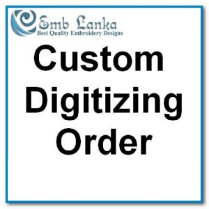 Protected: Custom Digitizing-1520 Custom Digitizing Order