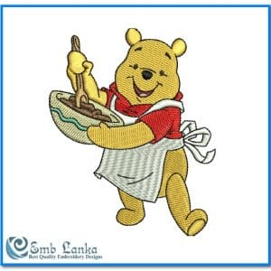 Disney Winnie The Pooh Embroidery Design Animals Disney